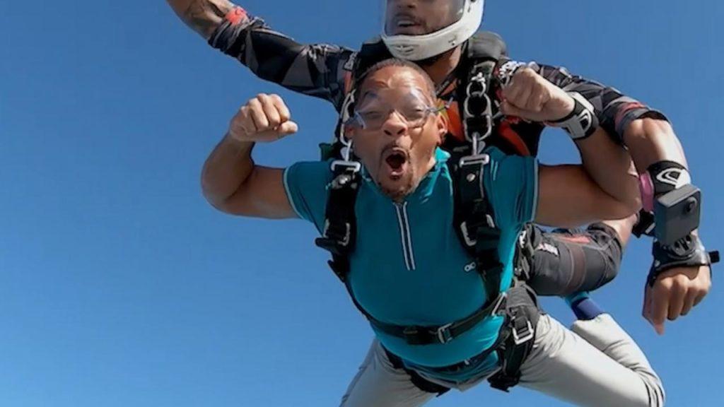 will smith skydiving in dubai